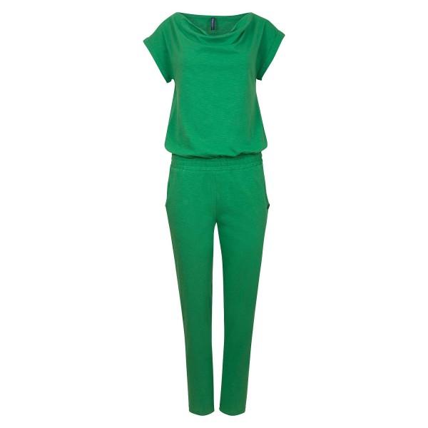 Jumpsuit Overall Hosenanzug Grün Bio Baumwolle Tranquillo Mila Größe L